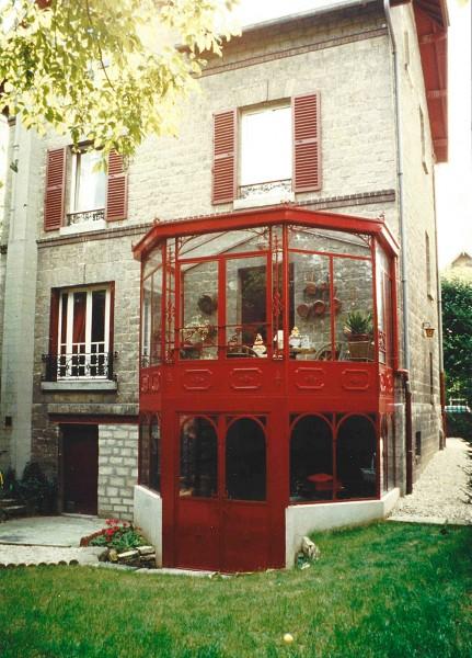 veranda a deux etages