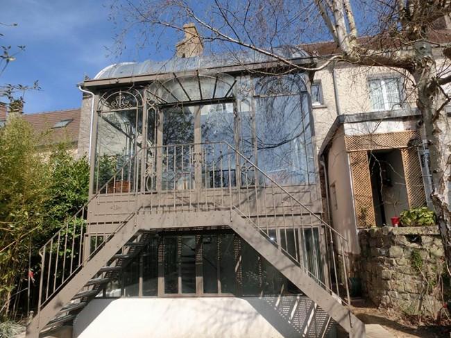 escalier exterieur veranda