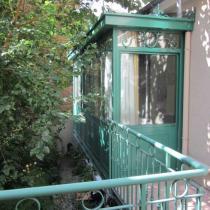 conception et cr ation de v randa l 39 ancienne en fer forg lucien longueville. Black Bedroom Furniture Sets. Home Design Ideas