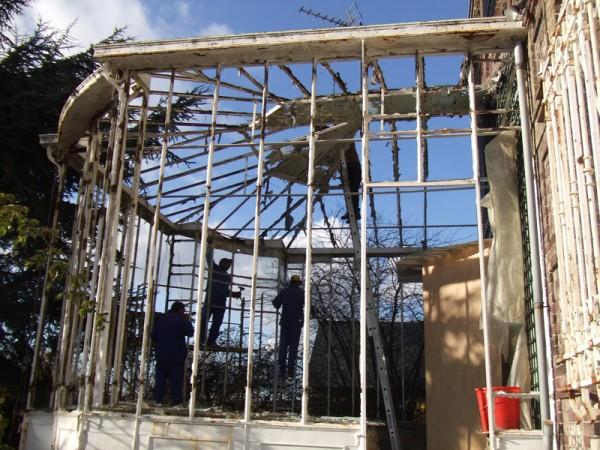 Renovation De Veranda Ancienne Lucien Longueville